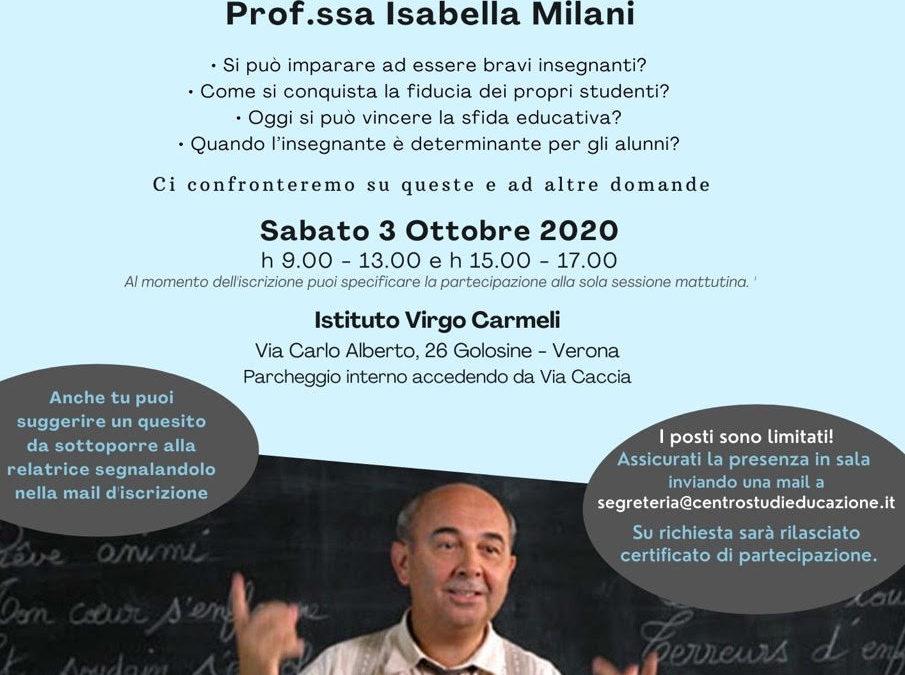 L'Arte di insegnare – Incontro con Isabella Milani